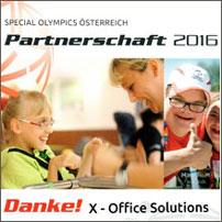 Partnerschaft 2016 mit Special Olympics Österreich