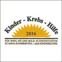 Kinder Krebshilfe – Sponsor-Urkunde 2016