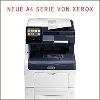 Die neue A4-Serie von XEROX