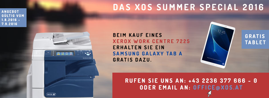XEROX Sommer Aktion