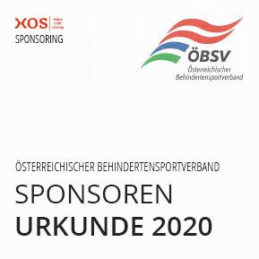 Förderung des Behindertensportverband 2020